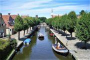 Hollandsk kanal i Sloten