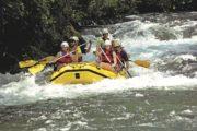 Rafting på Cetina floden