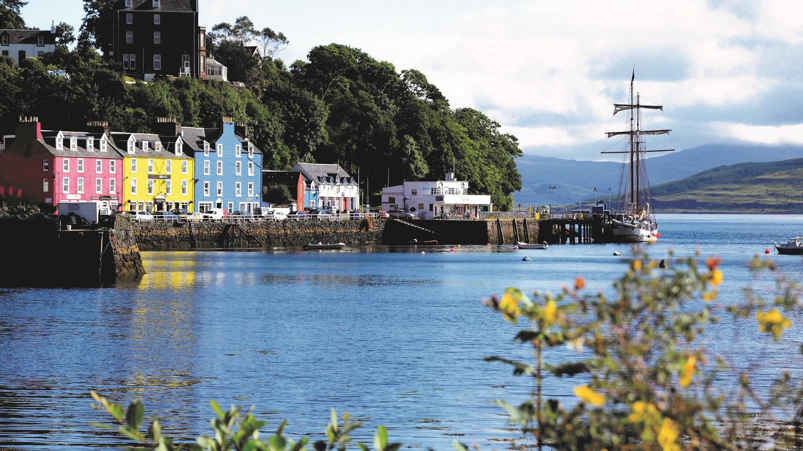 Skotske højland og Indre Hebrider