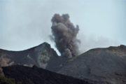 Vulkanudbrud på Stromboli