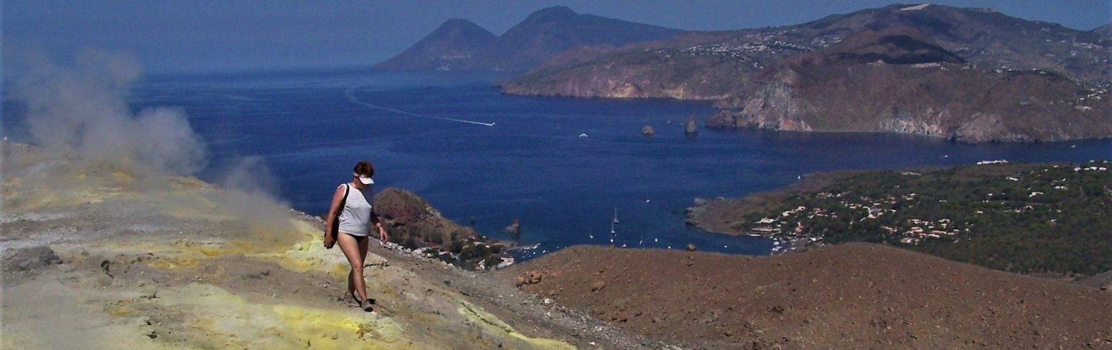 Øhop på vulkaner