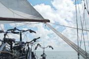 Cyklerne er med ombord