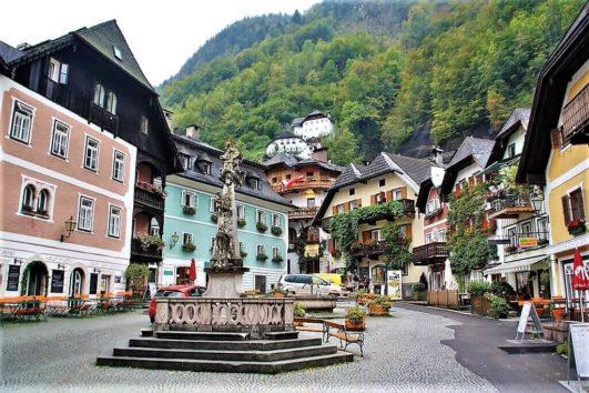 Vandreferie i Salzkammergut og Hallstatt i Østrig