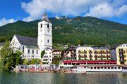 Vandreferie fra St Wolfgang i Salzkammergut Østrig
