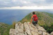 Udsigt over Middelhavet fra Alcudia halvøen