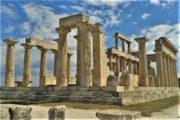 Cykelferie cykelkrydstogt Grækenland græsk tempel