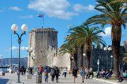 Havnepromenaden i Trogir