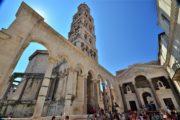 Ruiner i Diokletians palads i Split