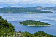 Udsigt fra øen Dugi Otok