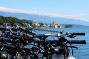 Cyklerne er med ombord på cykelkrydstogtet