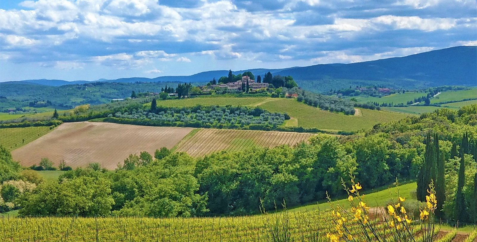 Vandreferie I Toscanas Bakker Aktiv Ferie I Italien