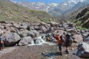 Vandløb krydses i Atlasbjergene