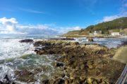 Portugals klippekyst ud mod Atlanterhavet