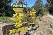 Skilte viser vej