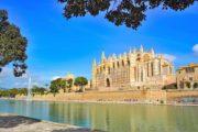 Cykelferie Mallorca katedralen i La Palma