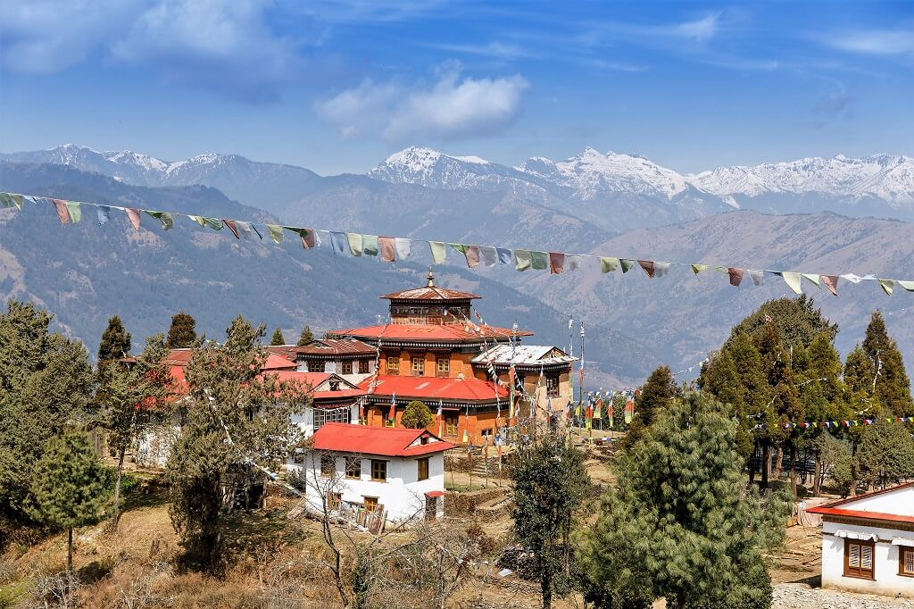 Vandreferie-Nepal-Solu-Pikey-Peak-Thuptenchoeling-Gompa-buddhistisk-kloster