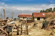 Vandreferie-Nepal-Solu-Pikey-Peak-landligt