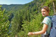 Vandreferie-Tyskland-Schwarzwald-Schluchtensteig-udsigt-over-Wutach