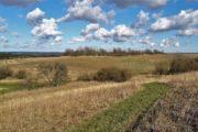 Vandring over markerne udenfor Rønde