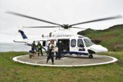 Helikopter til Mykines