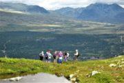 Fantastiske udsigter over de norske fjelde