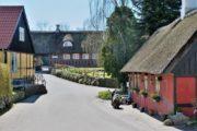 Den charmerende landsby Kejlstrup med bindingsværkshuse