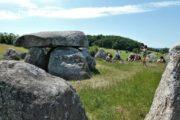 Danmarks største stendysse Poskær Stenhus nær Knebel