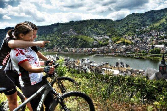 Cykelferie Cochem Mosel ©(c)Touristik Info Ferienland Cochem