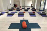 Vandring og yoga Strandgården yogasal