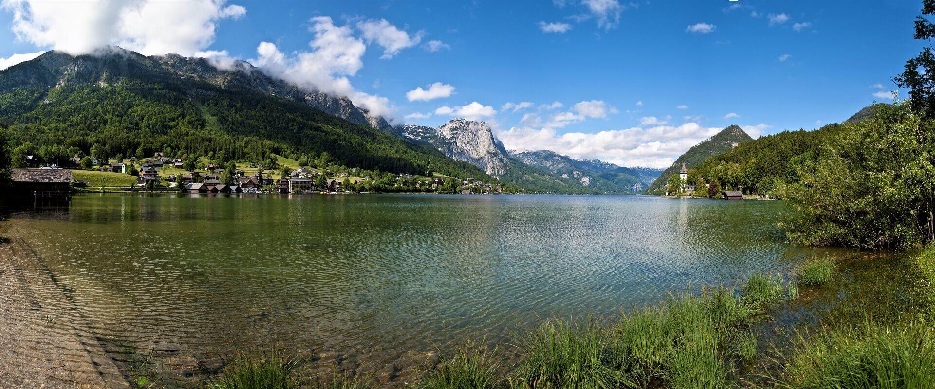 10 søer i Salzkammergut