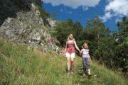 Vandreferie Tyskland Altmühltal Panoramasti familievandring