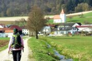 Vandreferie Tyskland Altmühltal Panoramasti