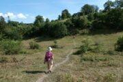 Vandring i den nordlige ende af Mols Bjerge