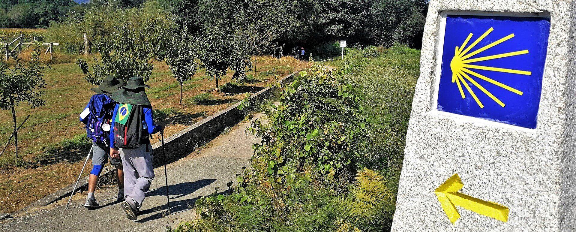Camino Portugues Central Rute
