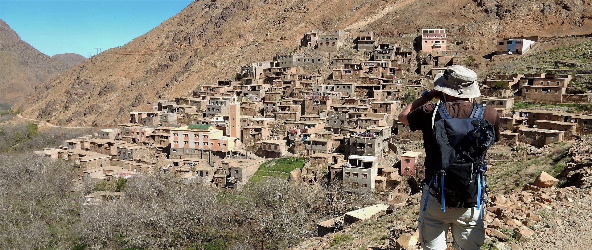 Atlasbjergenes berberlandsbyer