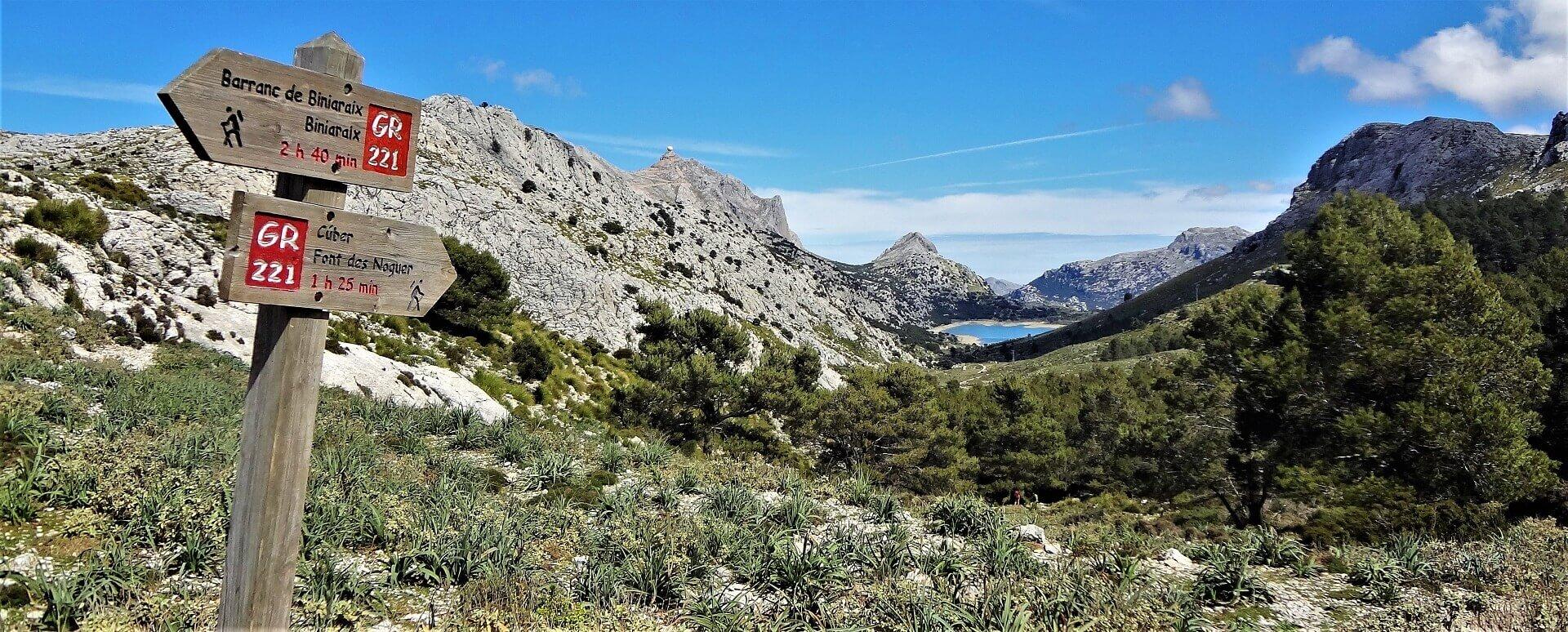 Mallorcas Tramuntana-bjerge