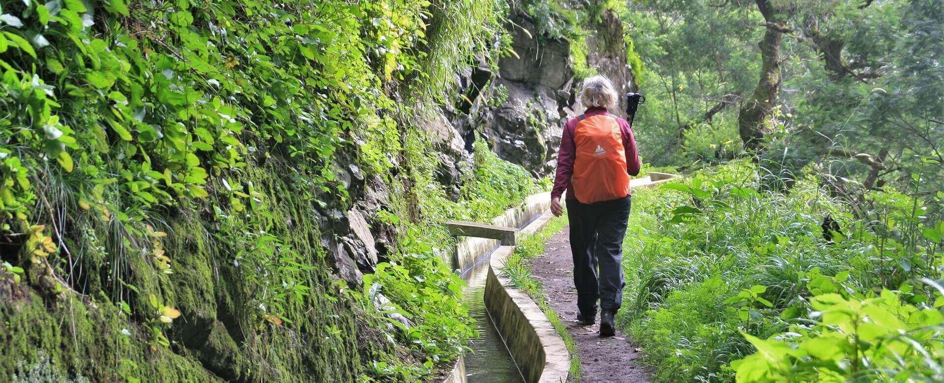 Gruppevandreferie på Madeira