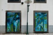 Smuk streetart på dørene i Machico