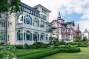 Smuk, klassisk arkitektur i badebyen Binz ©TMV/Süß