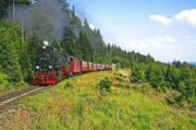 Damplokomotivet på Brockenbahn